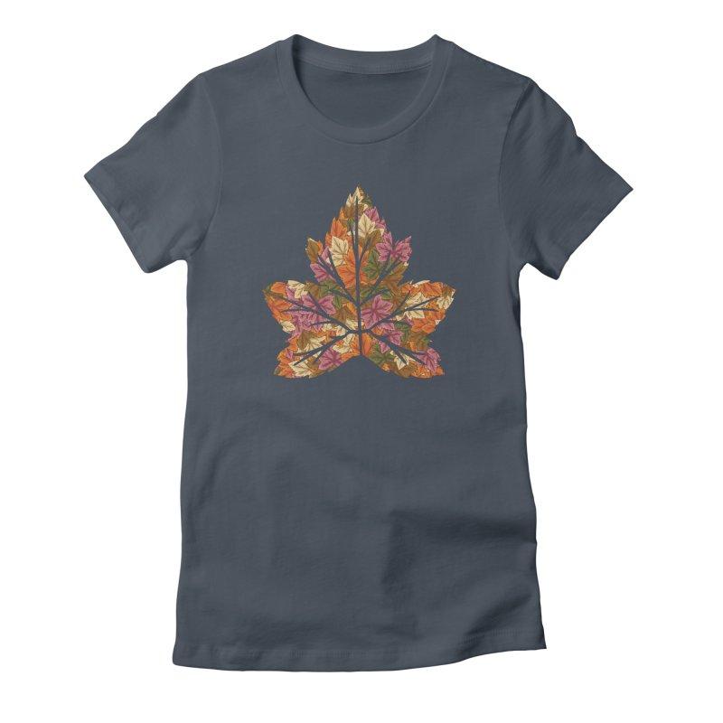 Autumn Leaves Women's T-Shirt by James Zintel