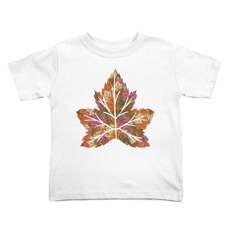 Autumn Leaves Kids Toddler T-Shirt by James Zintel