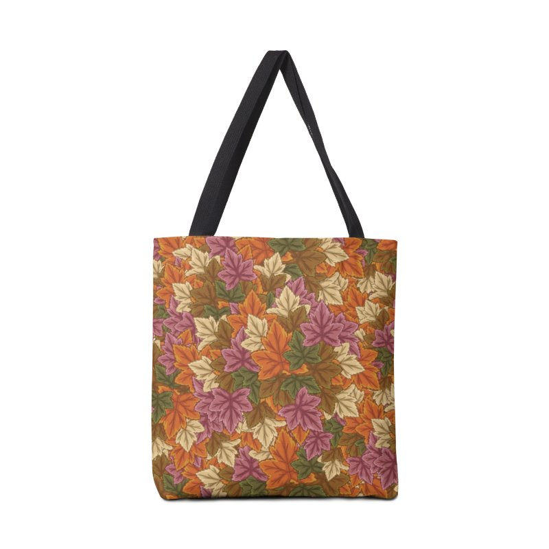 Autumn Leaves Accessories Bag by James Zintel