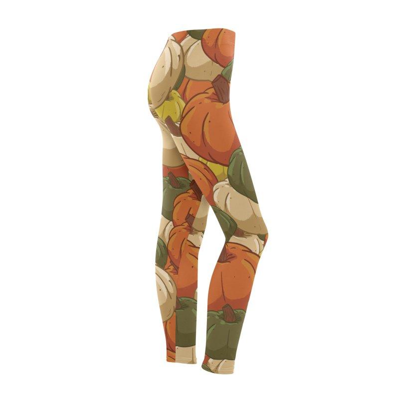 Pumpkin Pattern Women's Bottoms by James Zintel