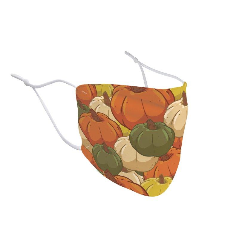 Pumpkin Pattern Accessories Face Mask by James Zintel