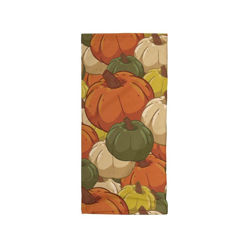 Pumpkin Pattern Accessories Neck Gaiter by James Zintel