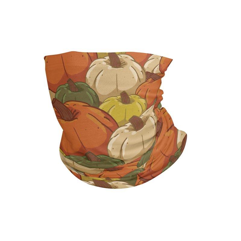 Pumpkin Pattern Accessories Neck Gaiter by James Zintel