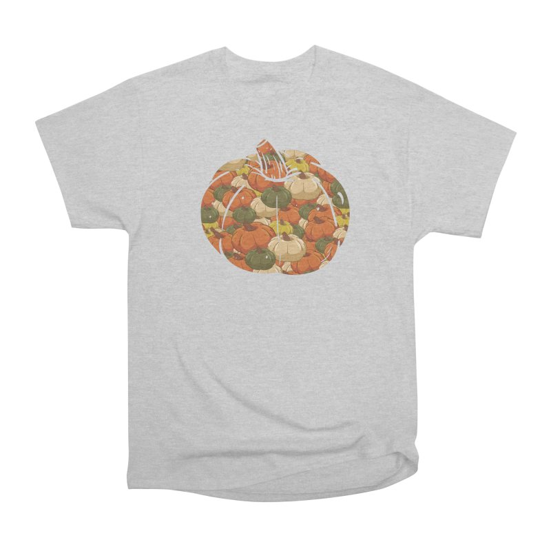Pumpkin Pattern Men's T-Shirt by James Zintel