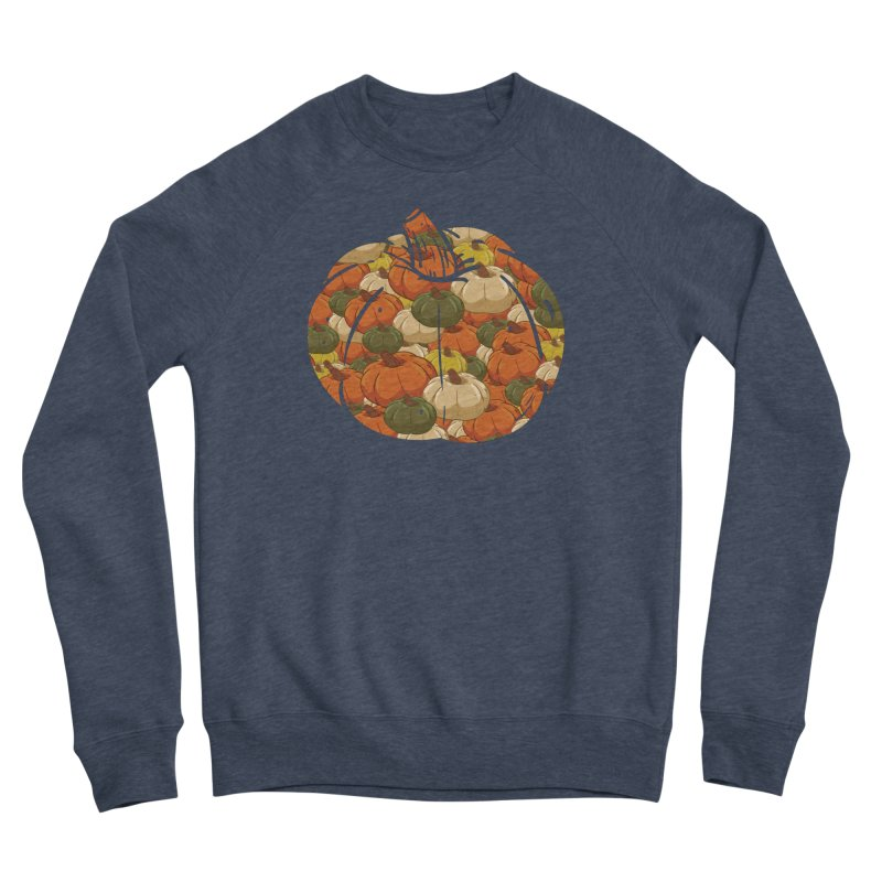 Pumpkin Pattern Men's Sweatshirt by James Zintel