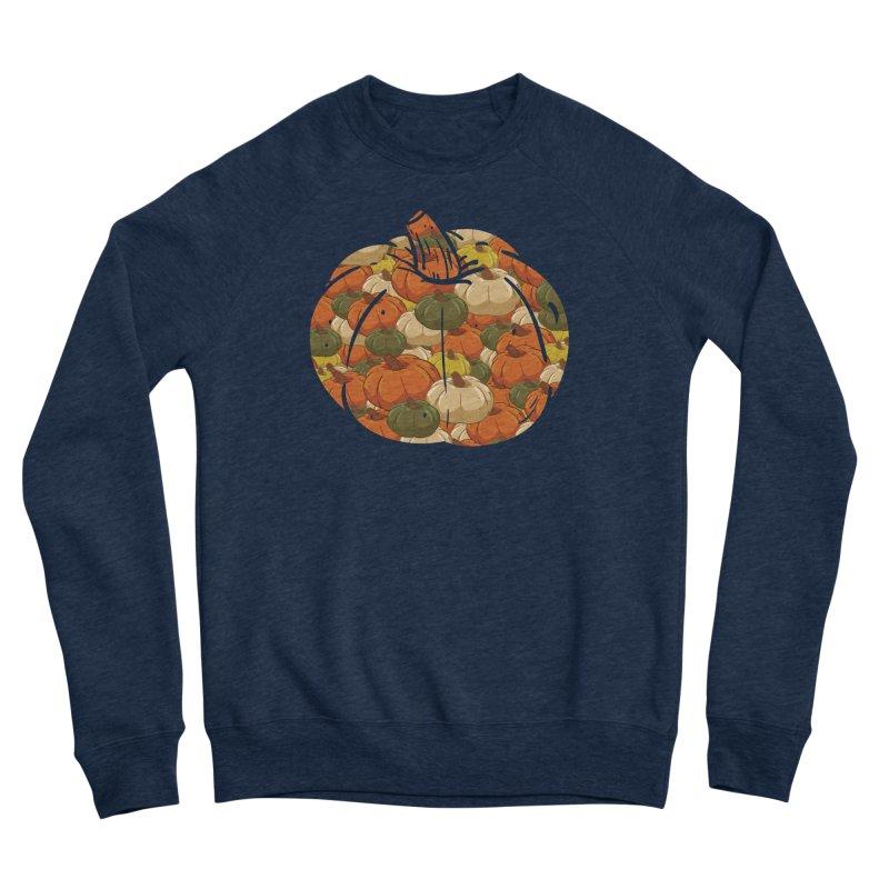 Pumpkin Pattern Men's Sweatshirt by James Zintel
