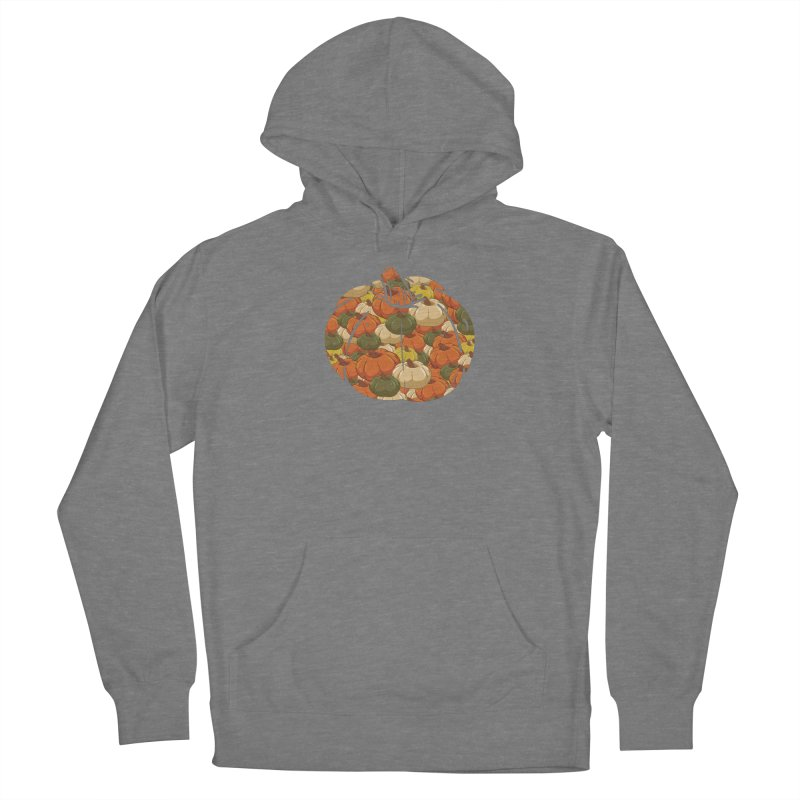 Pumpkin Pattern Women's Pullover Hoody by James Zintel