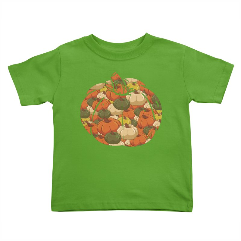 Pumpkin Pattern Kids Toddler T-Shirt by James Zintel