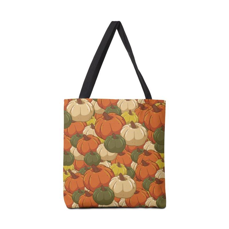 Pumpkin Pattern Accessories Bag by James Zintel
