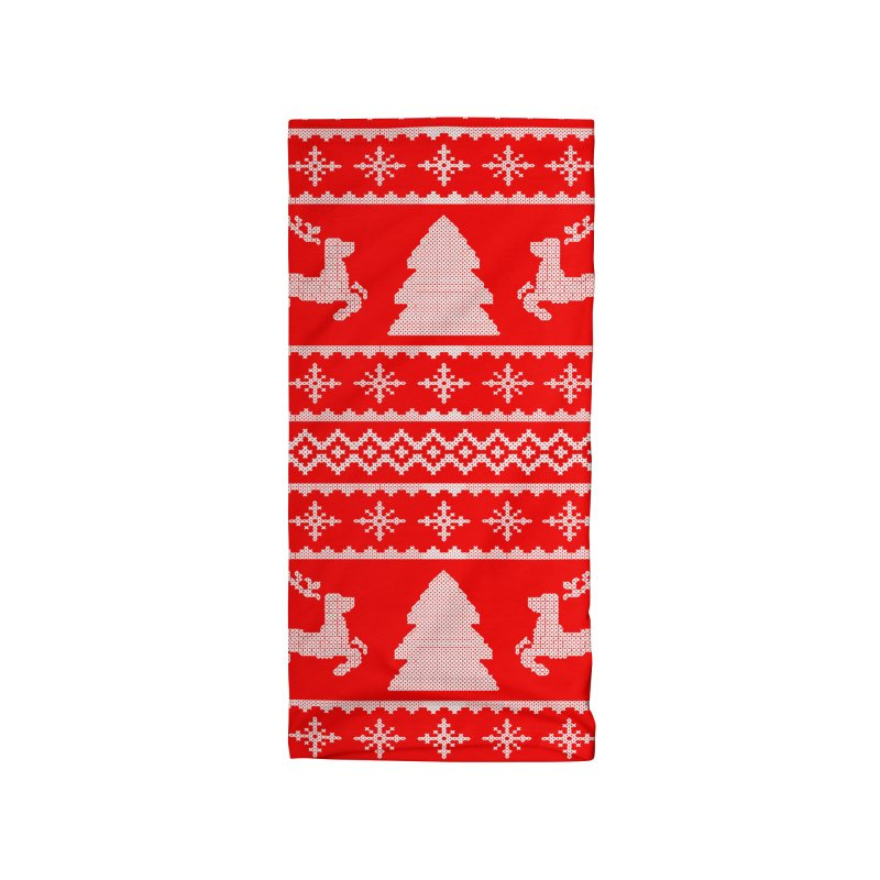 Christmas Sweater - Deers and Such Accessories Neck Gaiter by James Zintel