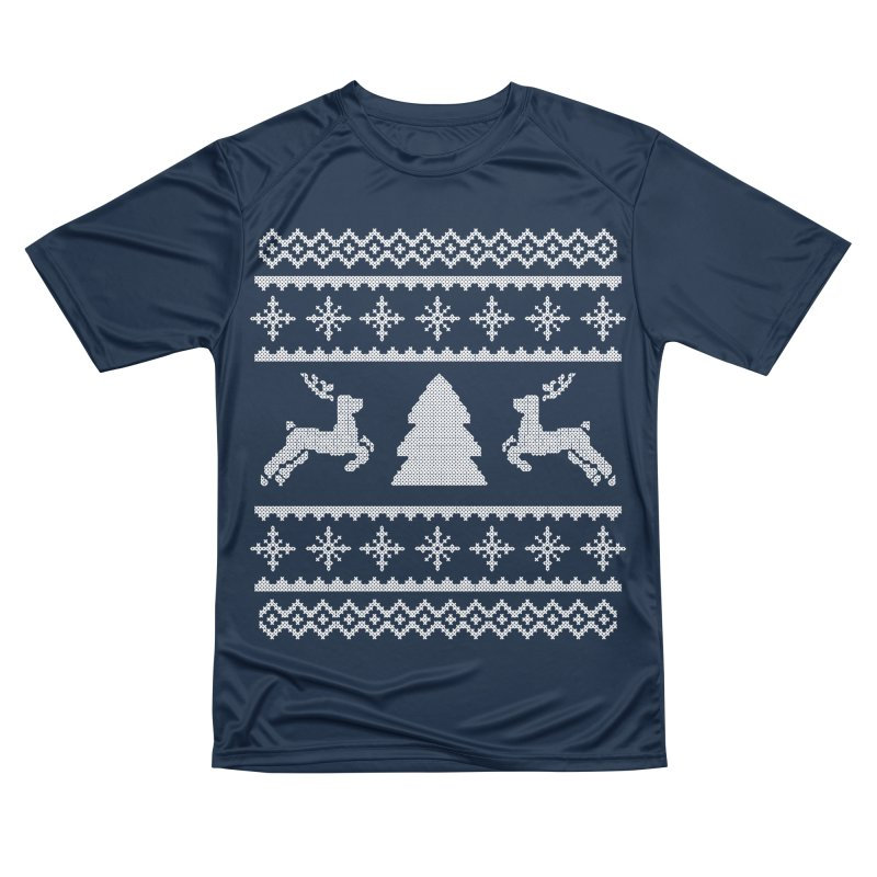 Christmas Sweater - Deers and Such Men's T-Shirt by James Zintel