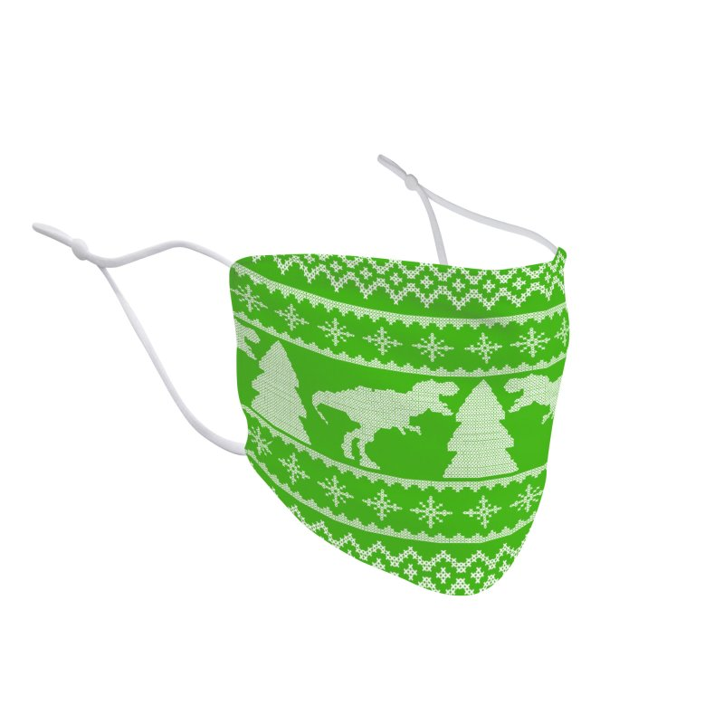 Rexmas Holiday Sweater Accessories Face Mask by James Zintel