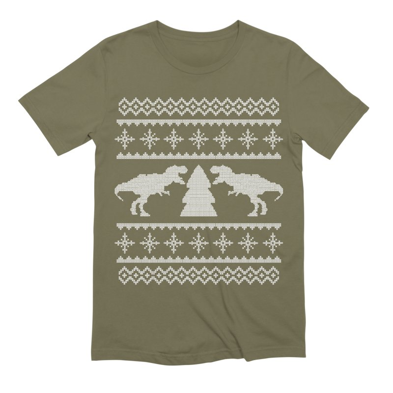 Rexmas Holiday Sweater Men's T-Shirt by James Zintel