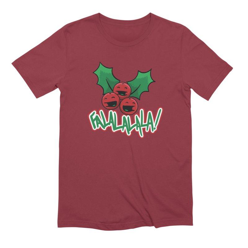Holly Berries Men's T-Shirt by James Zintel