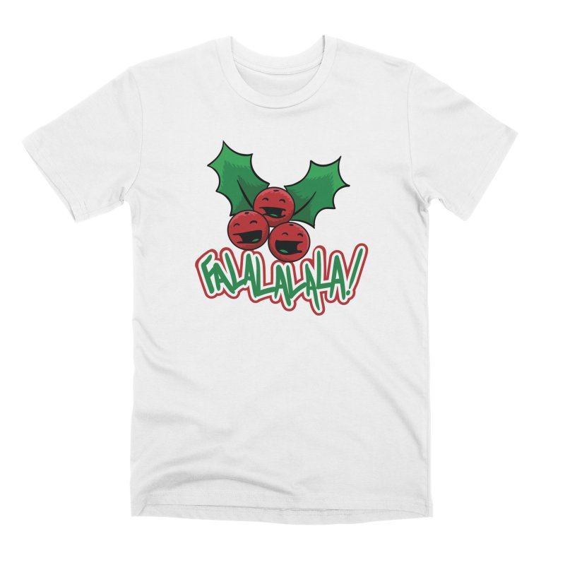 Holly Berries Men's T-Shirt by James Zintel