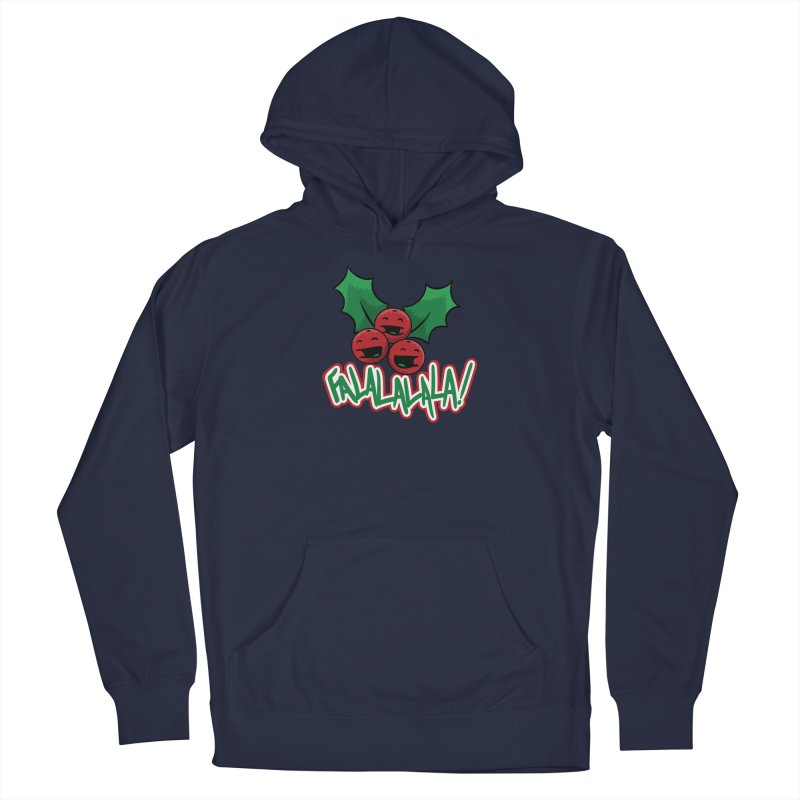 Holly Berries Men's Pullover Hoody by James Zintel