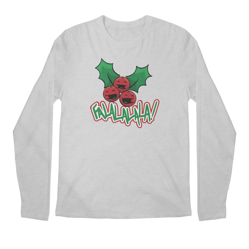 Holly Berries Men's Longsleeve T-Shirt by James Zintel