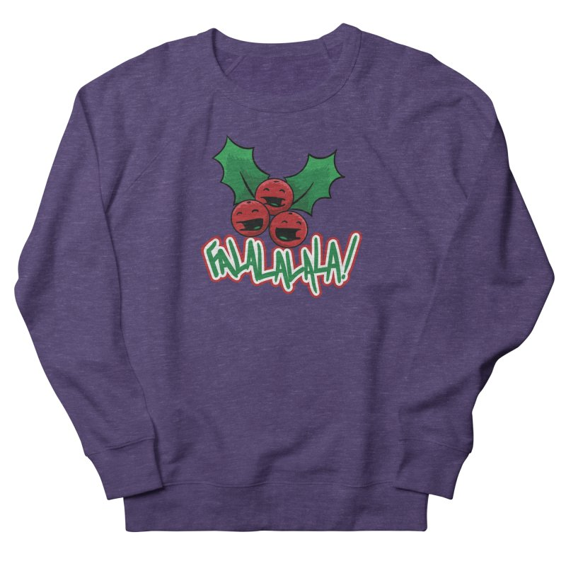 Holly Berries Women's Sweatshirt by James Zintel