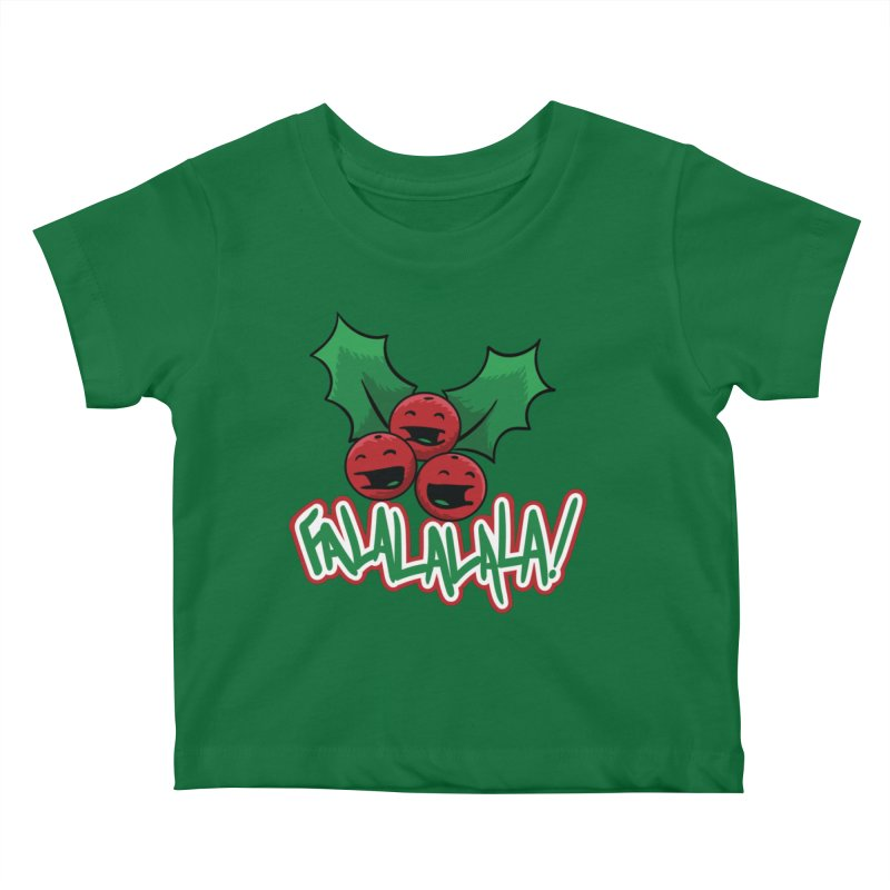 Holly Berries Kids Baby T-Shirt by James Zintel