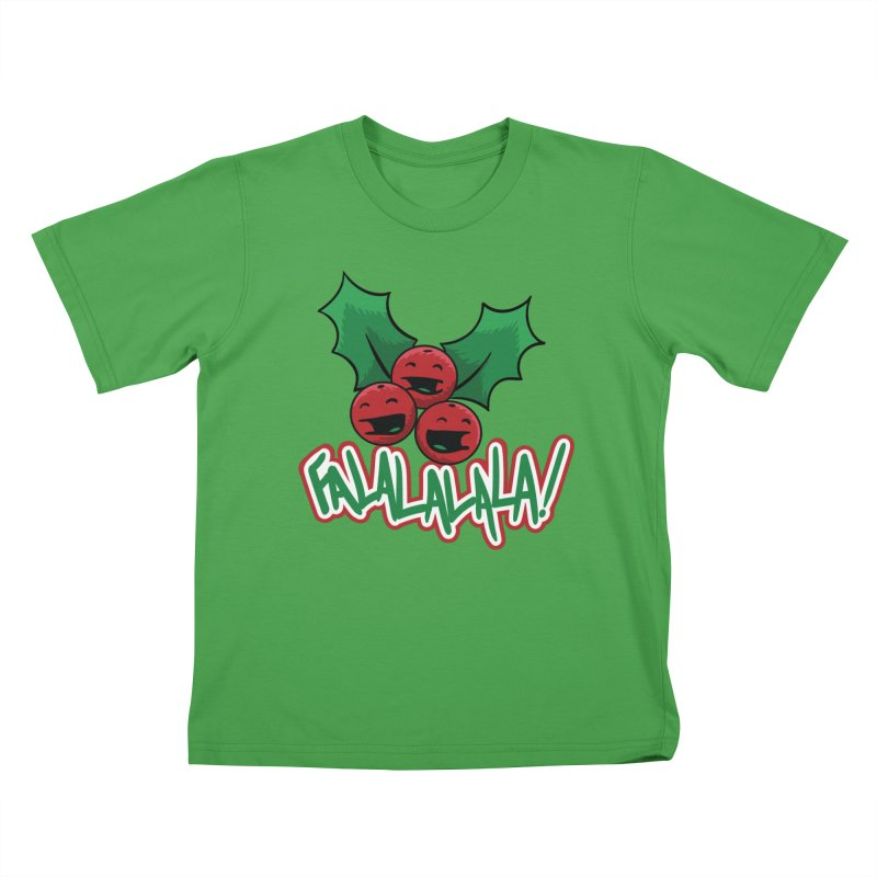 Holly Berries Kids T-Shirt by James Zintel