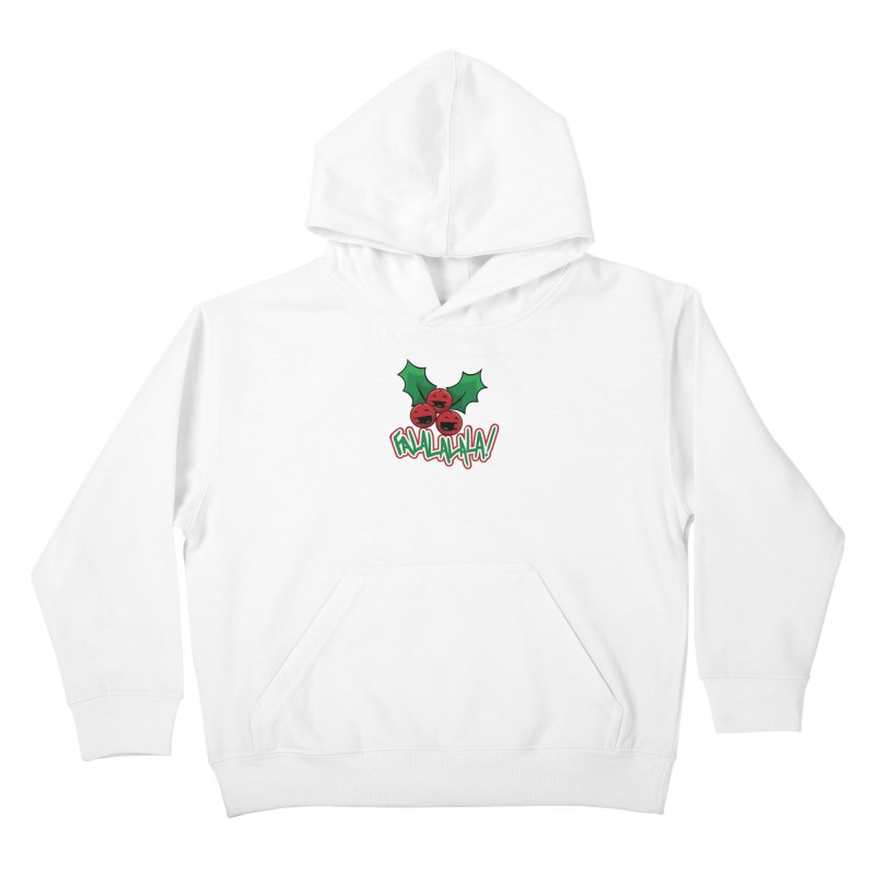 Holly Berries Kids Pullover Hoody by James Zintel