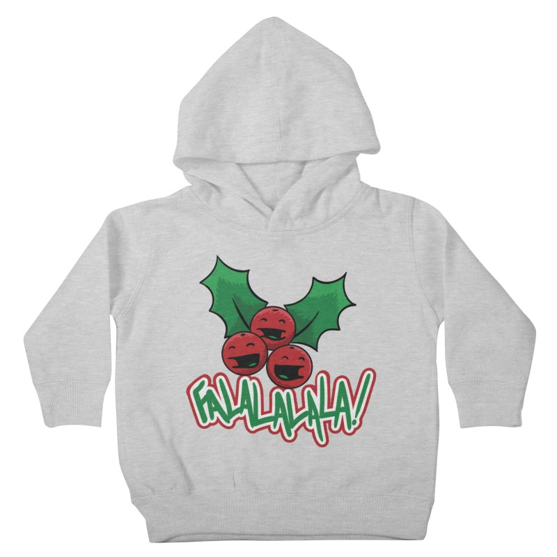 Holly Berries Kids Toddler Pullover Hoody by James Zintel
