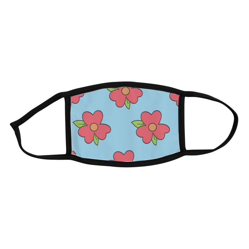 MuuMuu Pattern Accessories Face Mask by James Zintel