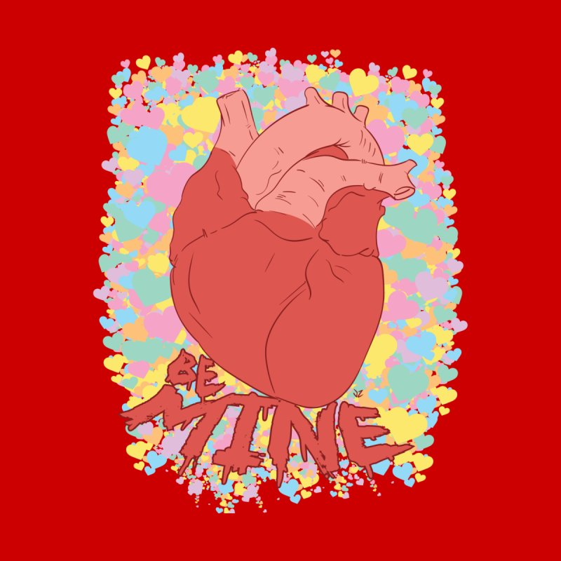 Be Mine Kids Longsleeve T-Shirt by James Zintel