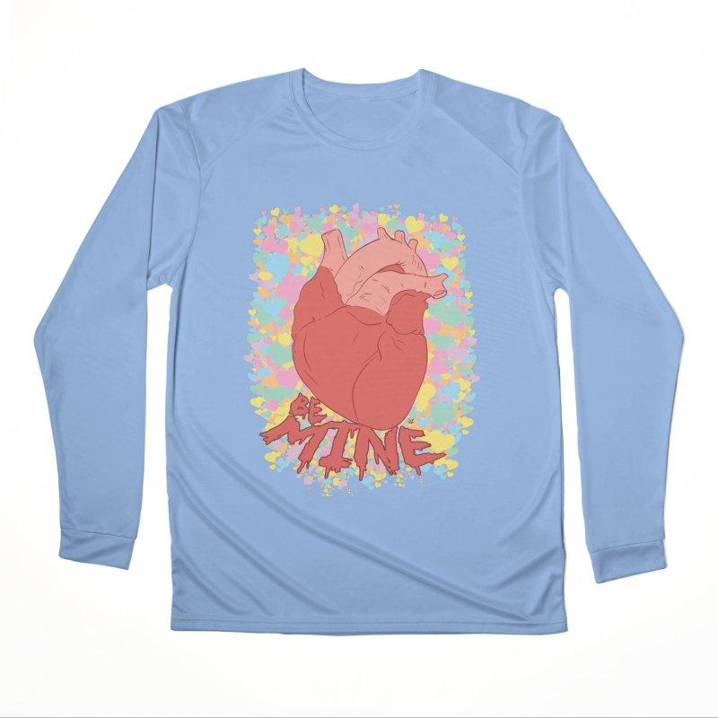 Be Mine Men's Longsleeve T-Shirt by James Zintel