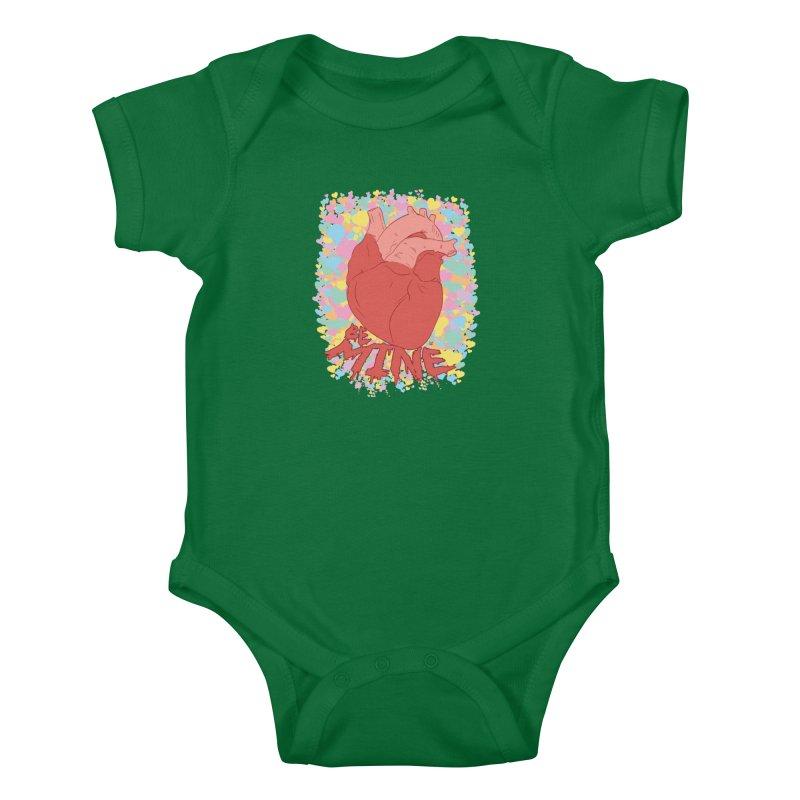 Be Mine Kids Baby Bodysuit by James Zintel