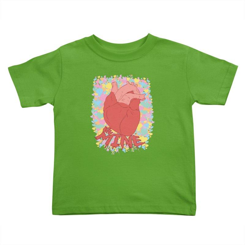 Be Mine Kids Toddler T-Shirt by James Zintel