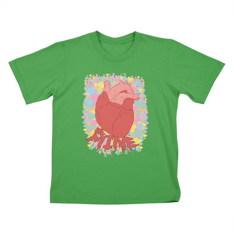 Be Mine Kids T-Shirt by James Zintel