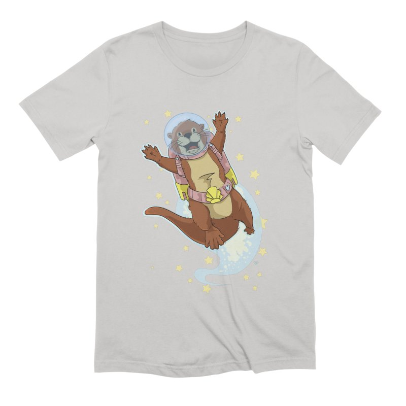 Otter Space 2.0 Men's T-Shirt by James Zintel