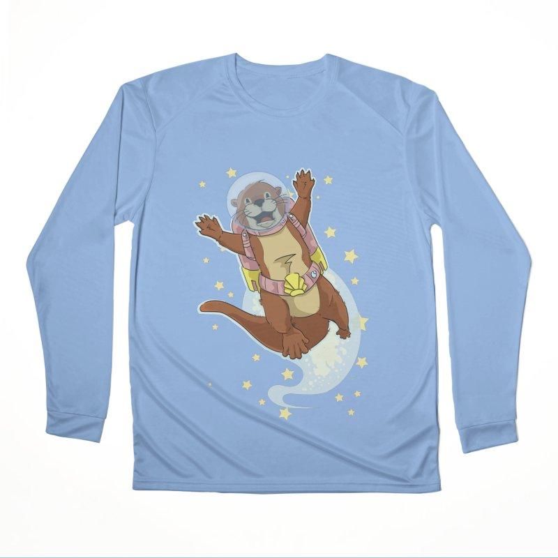 Otter Space 2.0 Women's Longsleeve T-Shirt by James Zintel