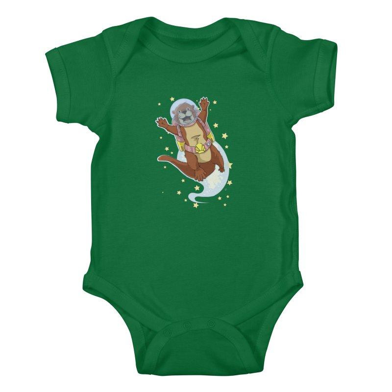 Otter Space 2.0 Kids Baby Bodysuit by James Zintel
