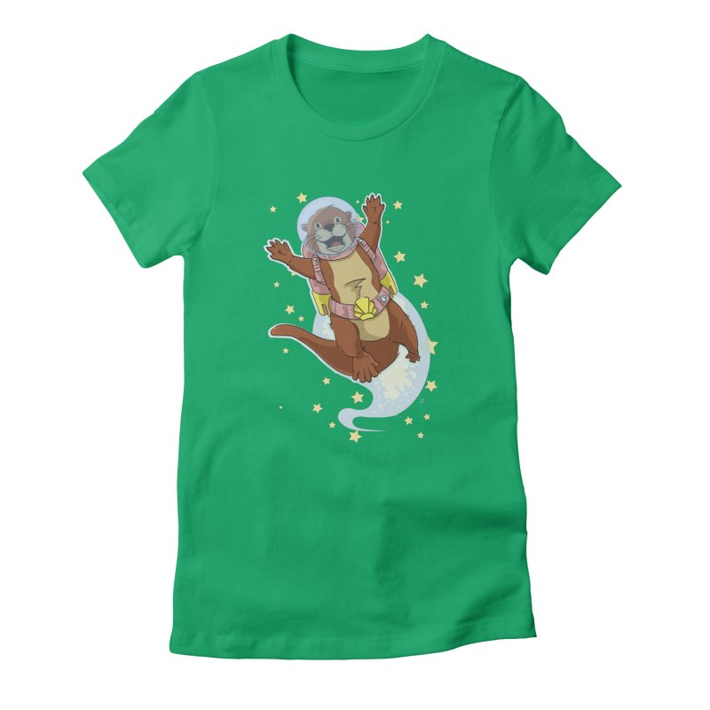 Otter Space 2.0 Women's T-Shirt by James Zintel