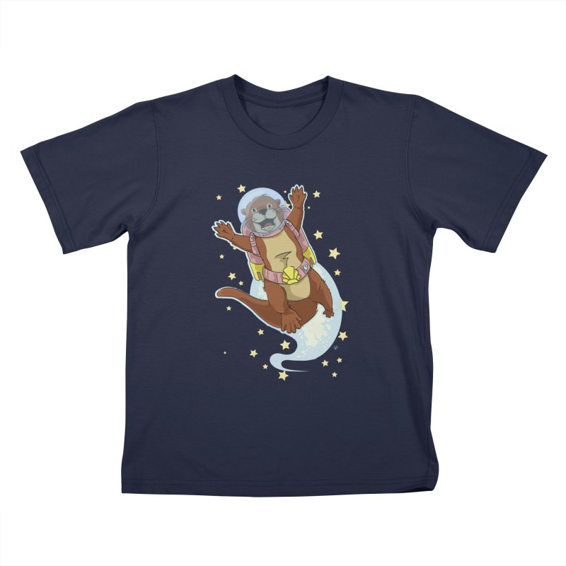 Otter Space 2.0 Kids T-Shirt by James Zintel