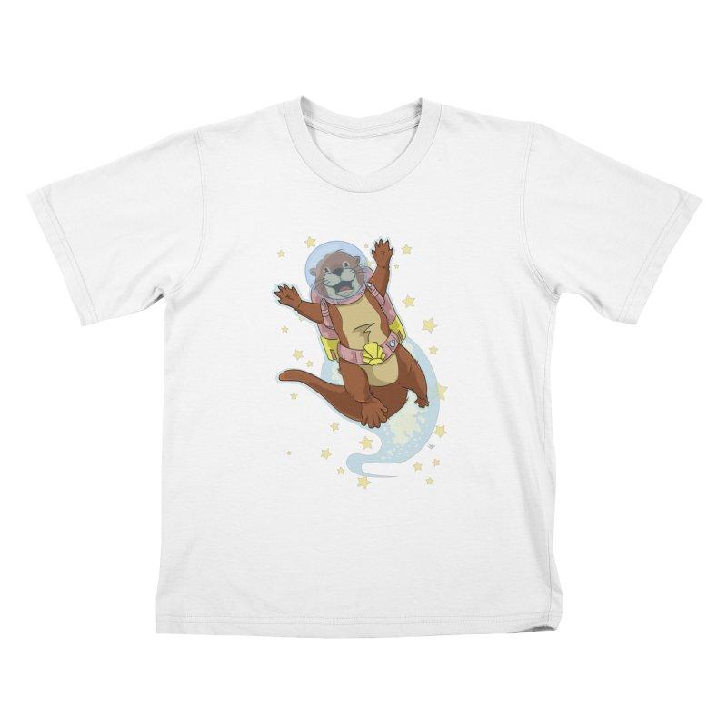 Otter Space 2.0 Kids T-Shirt by James Zintel