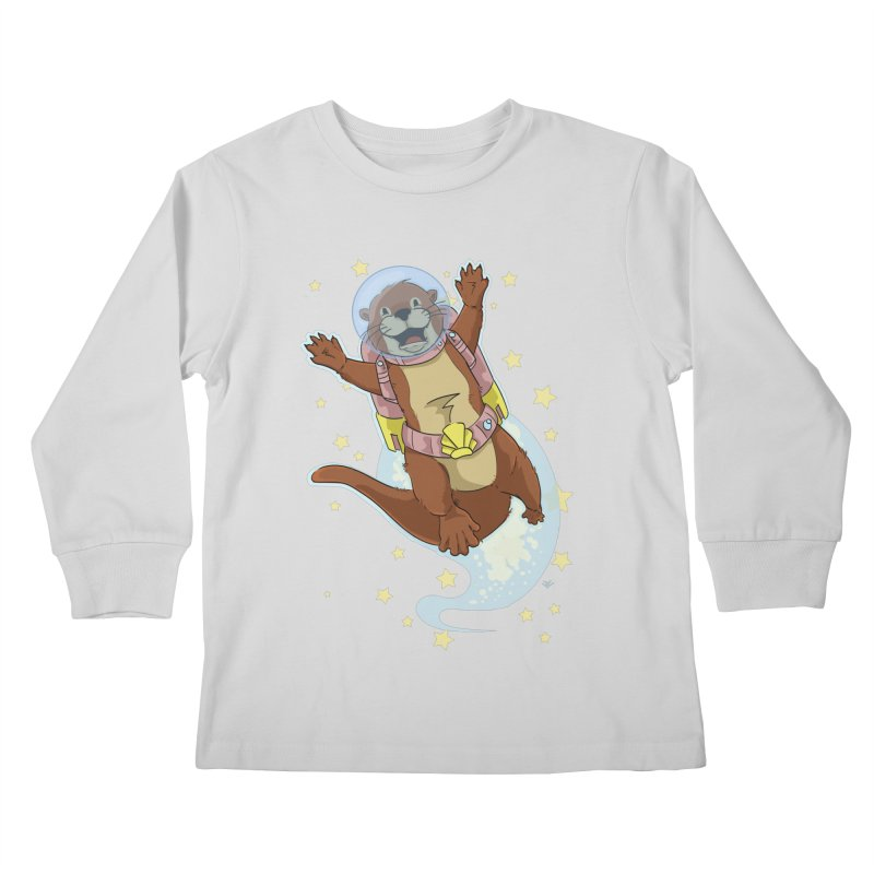 Otter Space 2.0 Kids Longsleeve T-Shirt by James Zintel