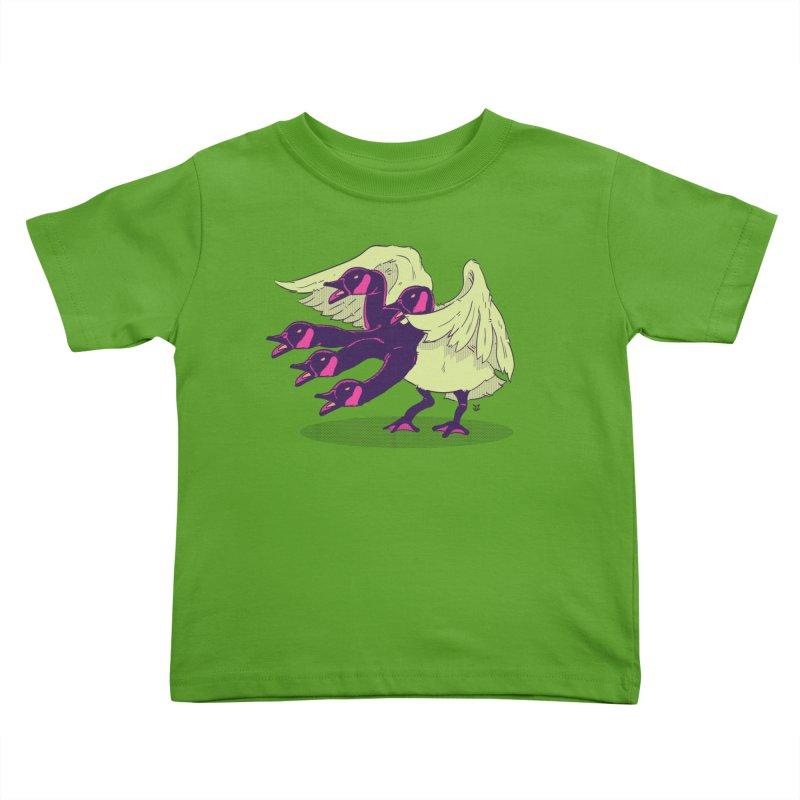 Goose Hydra Kids Toddler T-Shirt by James Zintel