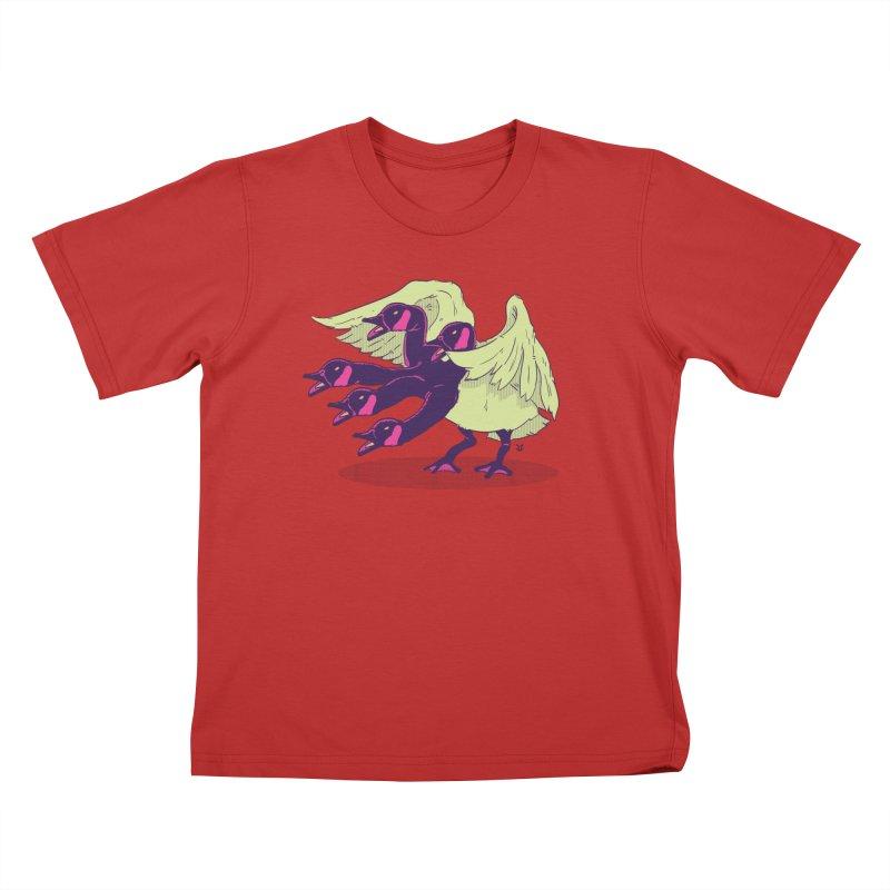 Goose Hydra Kids T-Shirt by James Zintel