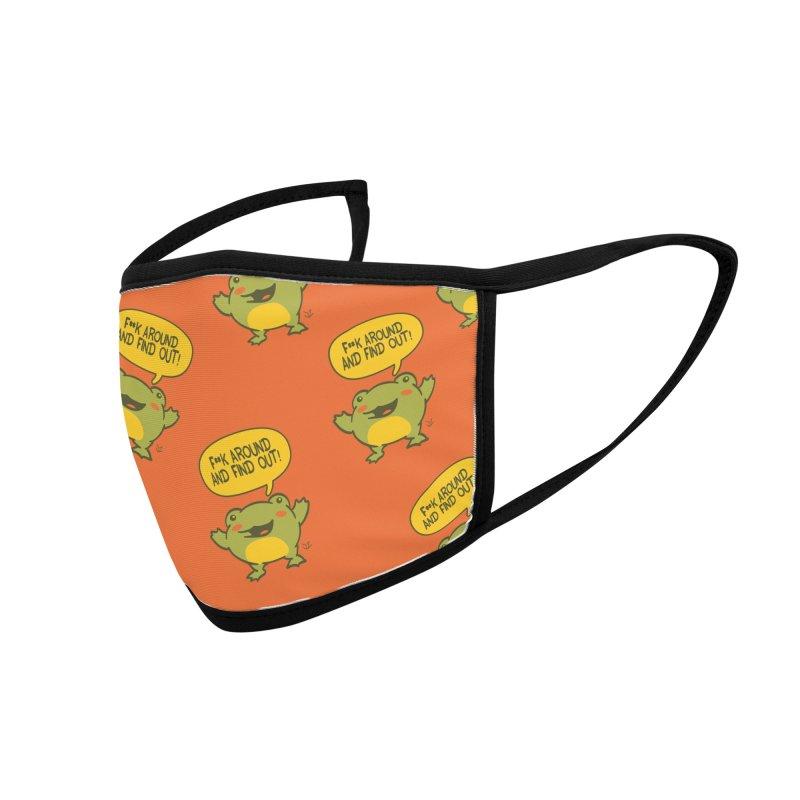 Froglin Accessories Face Mask by James Zintel