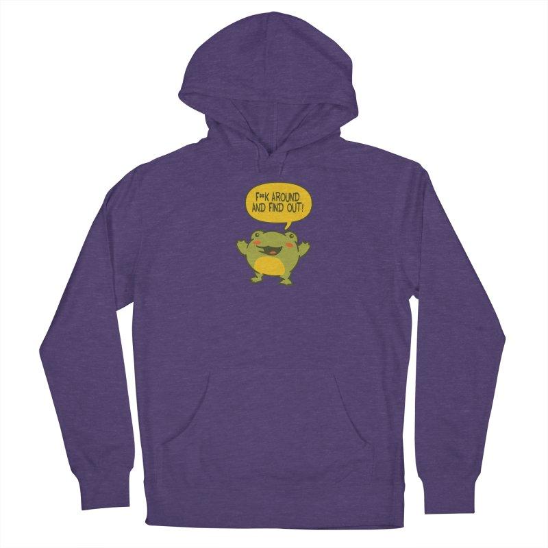 Froglin Men's Pullover Hoody by James Zintel