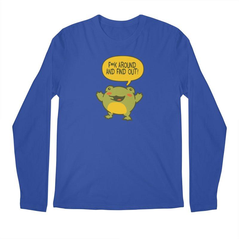 Froglin Men's Longsleeve T-Shirt by James Zintel