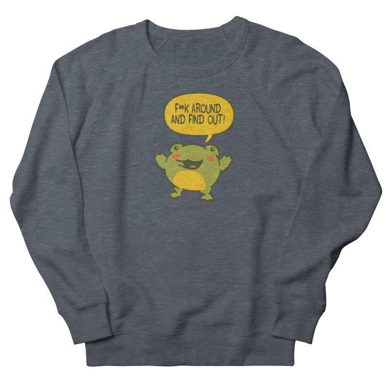 Froglin Men's Sweatshirt by James Zintel