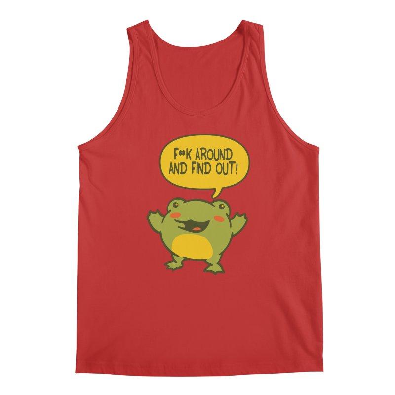 Froglin Men's Tank by James Zintel