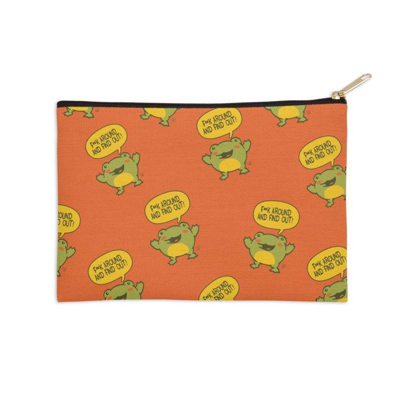 Froglin Accessories Zip Pouch by James Zintel