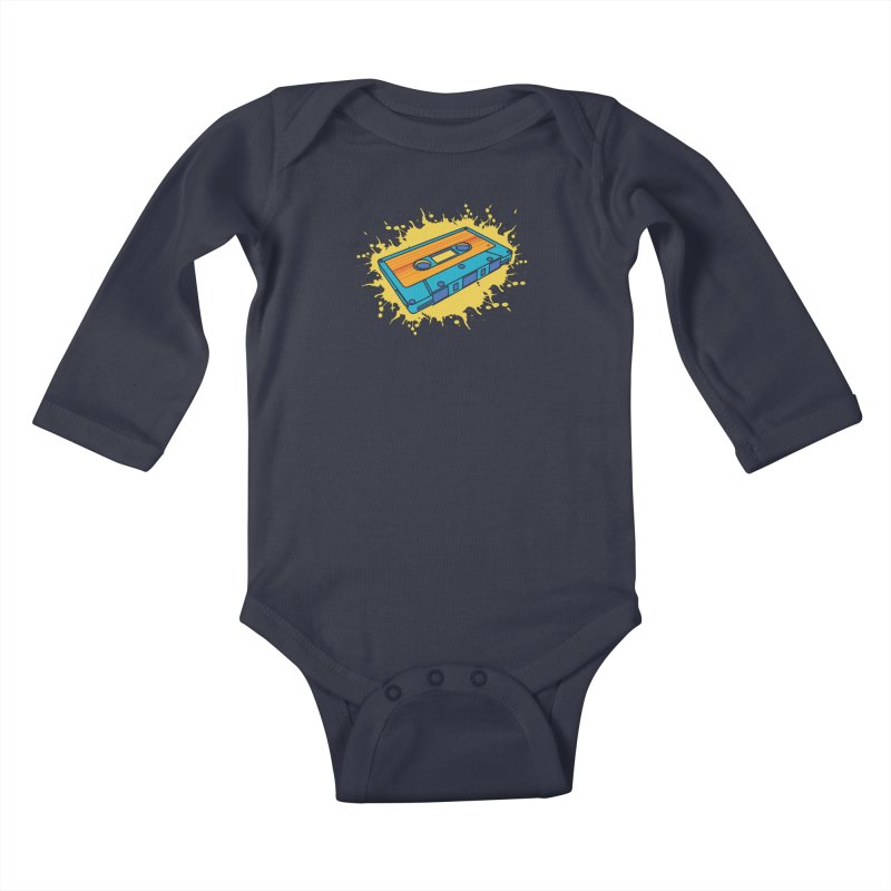 Mix It Up Kids Baby Longsleeve Bodysuit by James Zintel