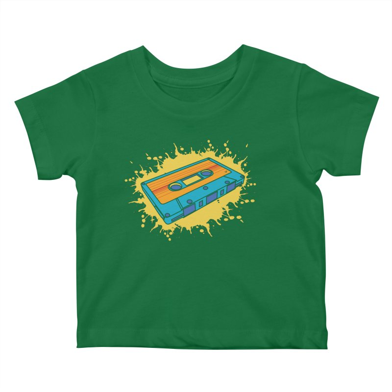 Mix It Up Kids Baby T-Shirt by James Zintel
