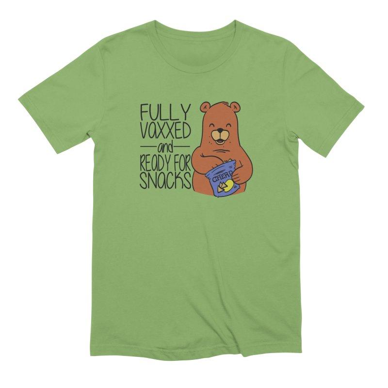 Vaxxed and Snacks Men's T-Shirt by James Zintel